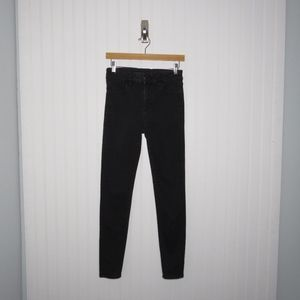 American Eagle | Black High Rise Jeggings